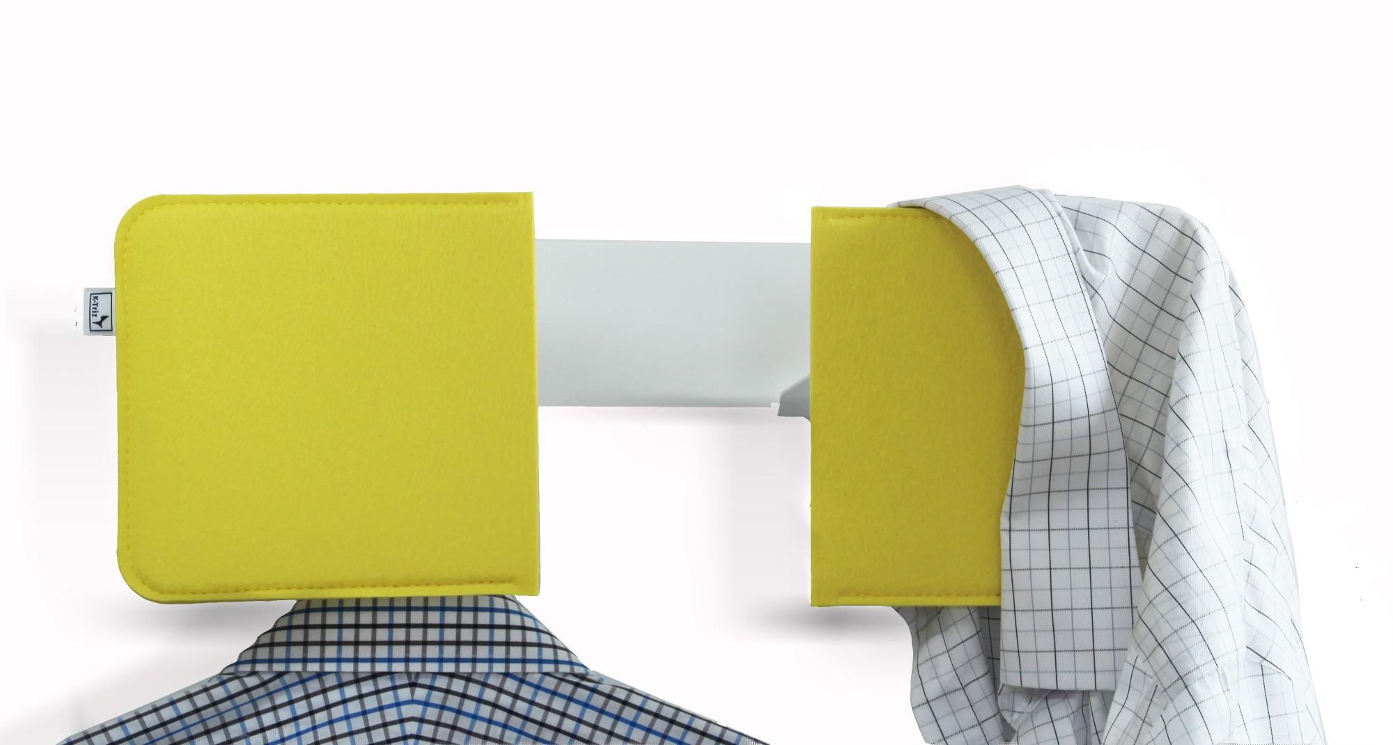 damendiener herrendiener gelb weiss stummer diener design ponalto. Black Bedroom Furniture Sets. Home Design Ideas
