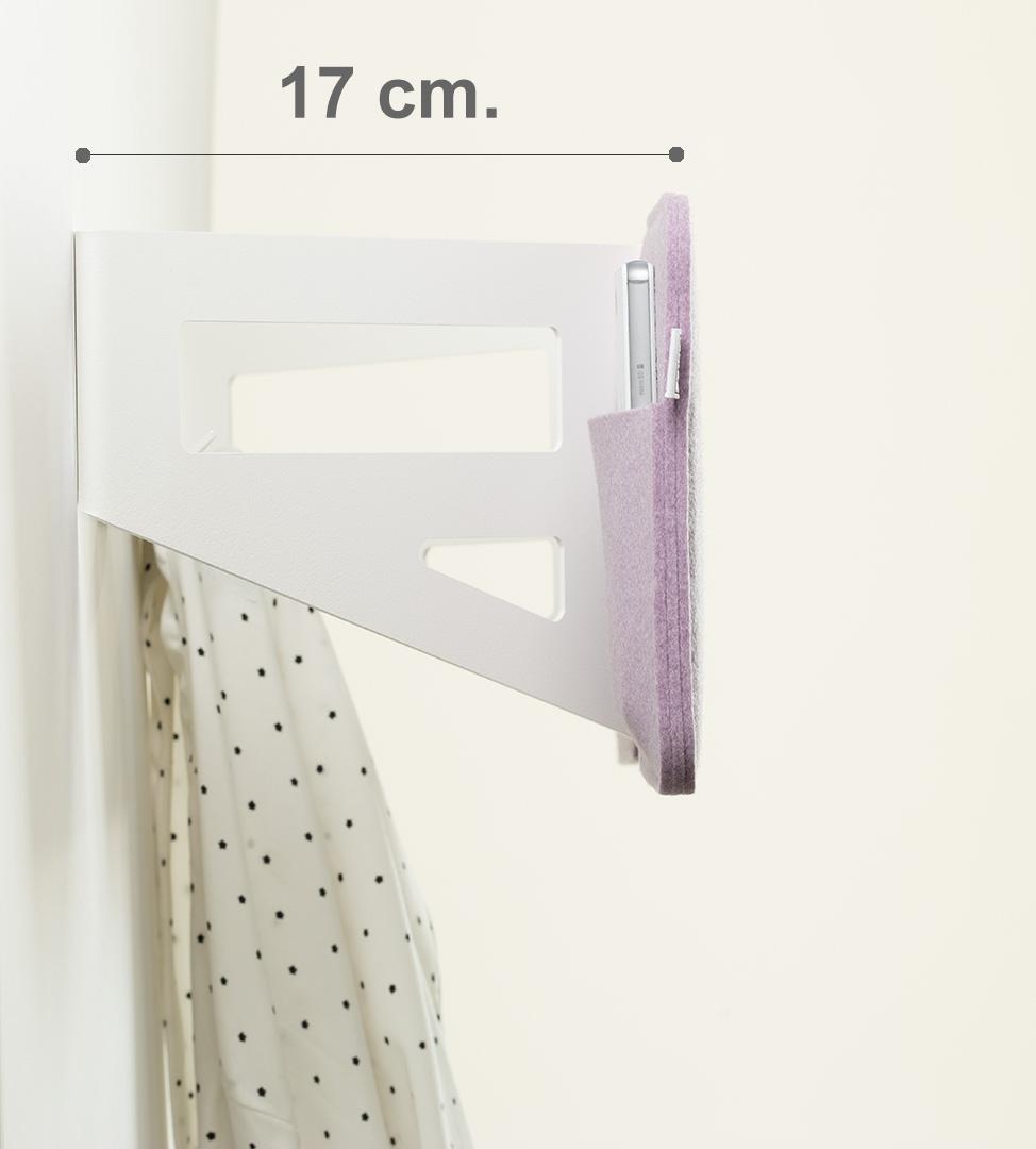 Kleiderablage Schlafzimmer Malve Weiss Stummer Diener Design Ponalto