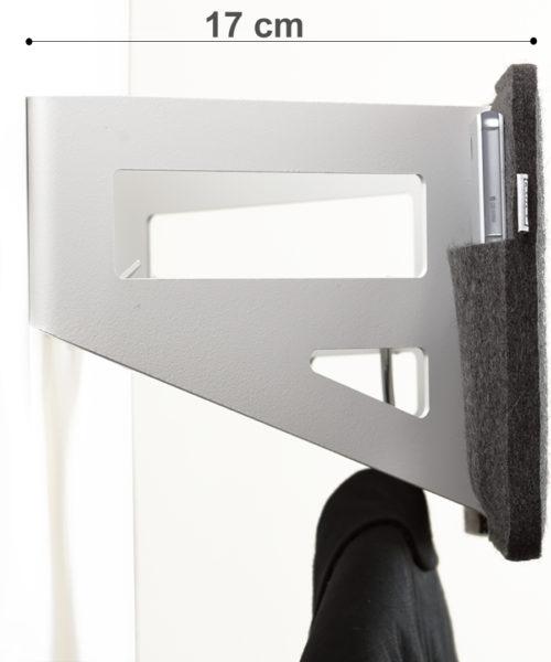 stummer diener anthrazit wei stummer diener design ponalto. Black Bedroom Furniture Sets. Home Design Ideas